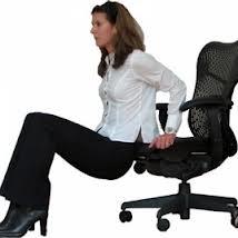 Como hacer abdominales sin moverte del escritorio