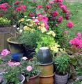 Drenaje y mezcla de tierra para macetas y jardineras
