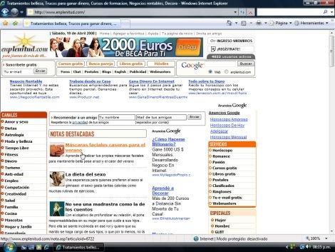 Navegadores: ¿Internet Explorer o Firefox?