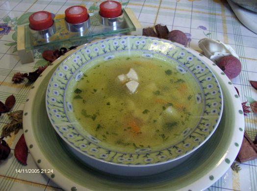 Sopa de hortalizas y verduras, para diabéticos