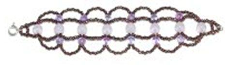 Pulsera con perlas y bolas