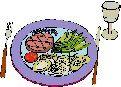 Una sabrosa combinación de lomo con vegetales