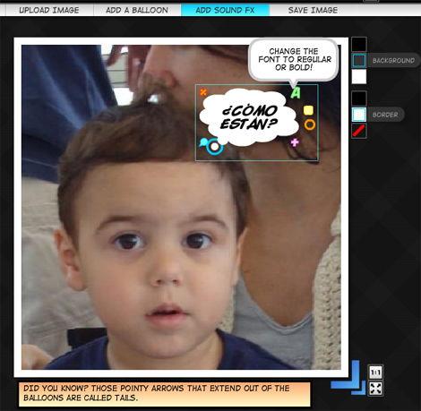 Cómo agregar globos de texto a las fotografías