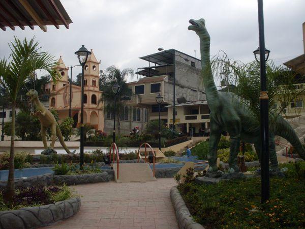 Parque  prehistórico de Las Lajas, Ecuador