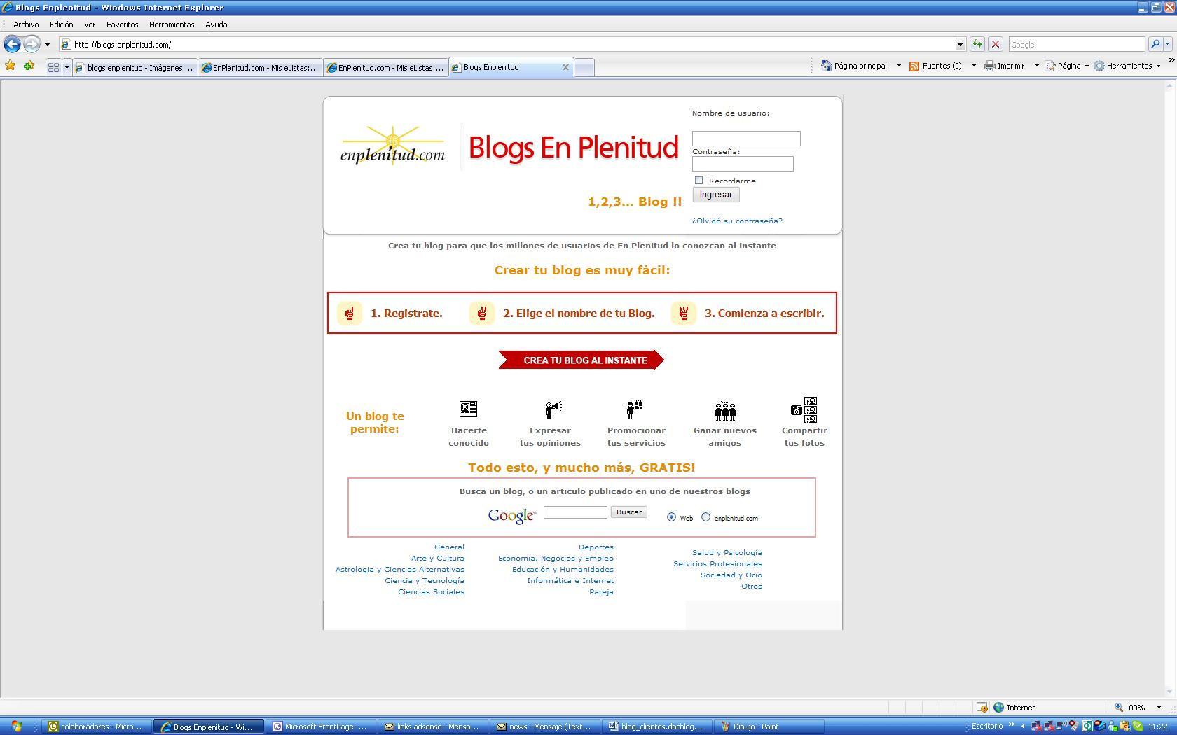 Crea un blog para atraer y retener clientes