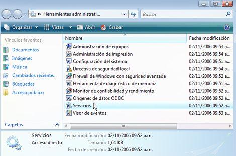 Windows Vista más rápido