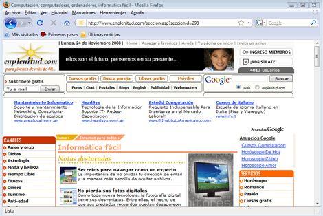 Cómo personalizar tu navegador de Internet