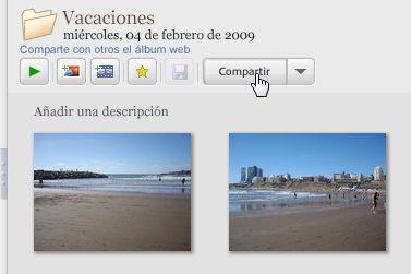 Cómo publicar fotos en la web con Picasa