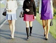 ¿Hay que invertir cuando la minifalda está de moda?