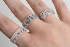 Cómo hacer anillos fáciles en bisuteria: video paso a paso