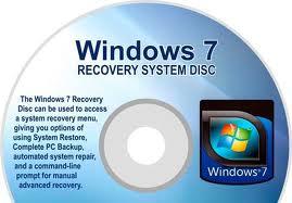 Cómo crear un disco de reparación en Windows 7