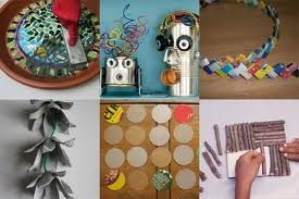 Cómo hacer adornos reciclados