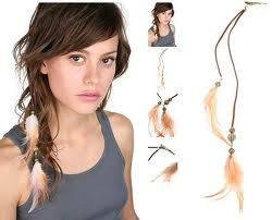 C mo hacer aretes y adornos para el cabello con plumas - Como hacer adornos para el pelo ...