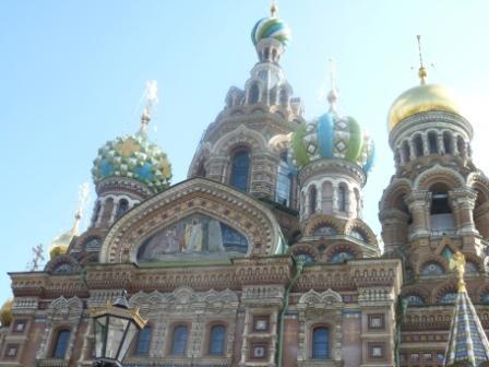 De compras en San Petersburgo