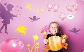 Vinilos infantiles para decorar la habitación de los niños