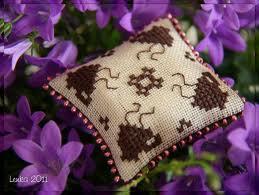 Cojín floral paso a paso