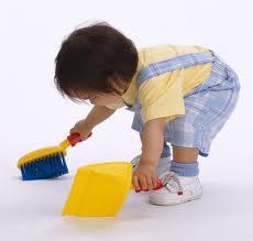 Cómo lograr que los niños ayuden en las tareas del hogar