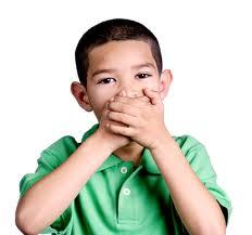 Cómo hacer que los niños no digan malas palabras