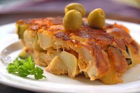 Tortillas españolas de pescado