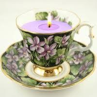 Cómo hacer una vela con una taza de té