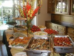 Cómo hacer un buffet en casa