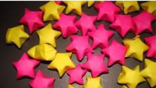 Cómo hacer estrellas de papel