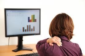 Ejercicios contra las malas posturas en el trabajo