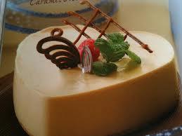 Torta light de mousse de dulce de leche