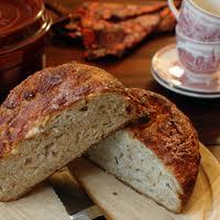 Pan de cebada, manzana y almendras