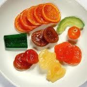 Cómo hacer frutas confitadas