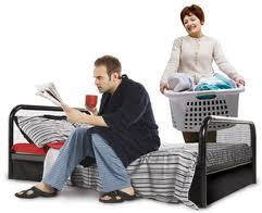 Mi pareja vive con sus padres