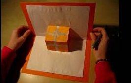 Cómo hacer la tarjeta de cumpleaños 3 D