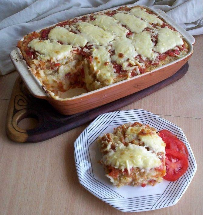 Lasagna para celiacos