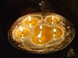 Cómo hacer una vela de manteca artesanal