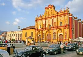 Fiestas en San Cristobal, Mexico