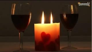 Cómo hacer velas románticas