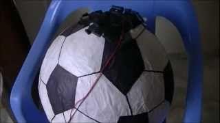 Cómo hacer una piñata pelota de fútbol