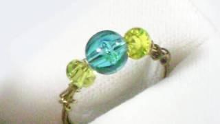 Cómo hacer anillos fáciles en bijouterie