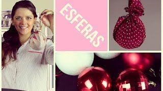 Cómo hacer tus propias esferas de Navidad