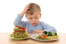 Dieta sana y equilibrada para niños