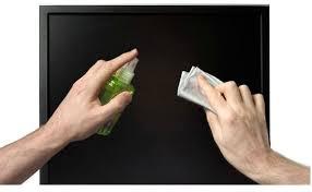 Cómo limpiar un monitor o TV de pantalla plana