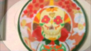 Como hacer platos decorativos a la mexicana