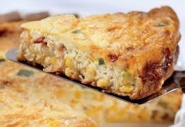 Tarta de maíz y queso