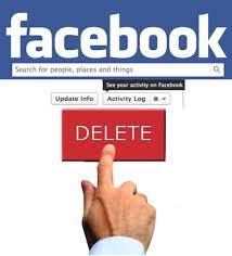 Cómo borrarte de Facebook por completo