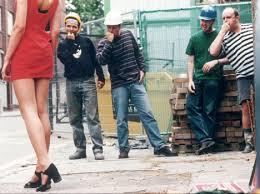 Piropos en la calle