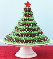 Cómo hacer un árbol de Navidad comestible
