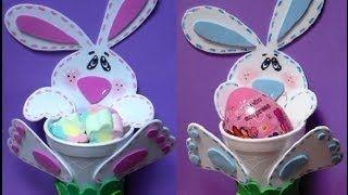 Cómo hacer un conejito dulcero de Pascuas