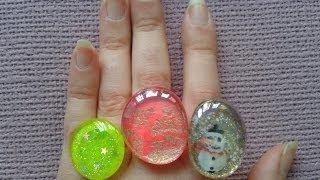 Como hacer anillos con esmalte