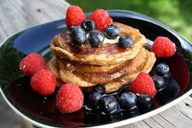 Receta de pancakes paleo