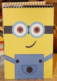 Ideas buenísimas para decorar cuadernos con Minions